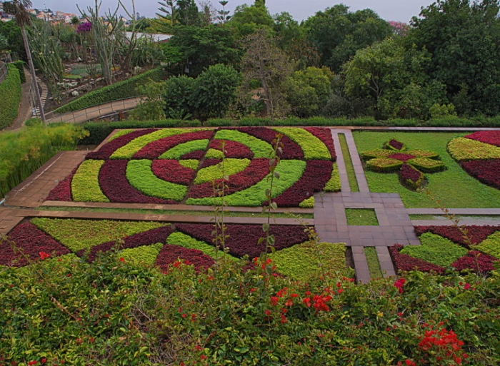 portugal, madere, funchal, jardin